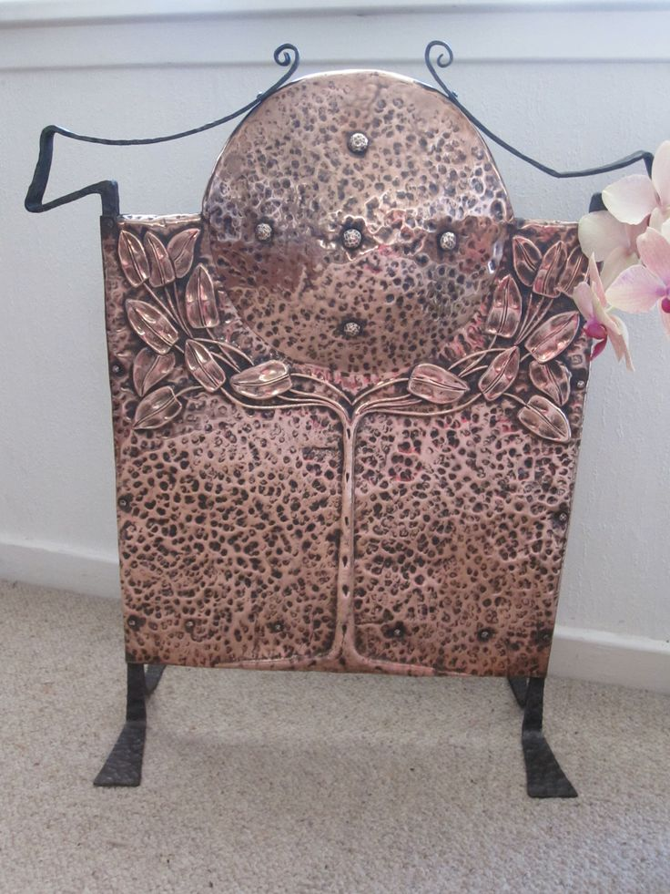 16 best Arts and Crafts Fire Screens images on Pinterest