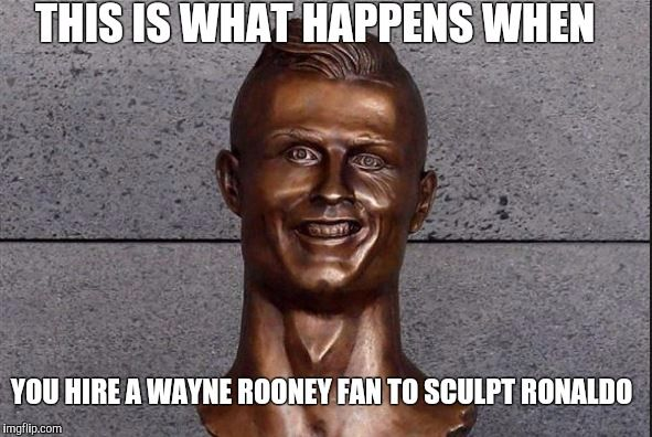 Ronaldo Statue - Imgflip