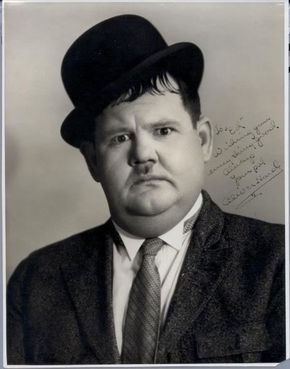 Oliver Hardy...January 18, 1892 - August 7, 1957