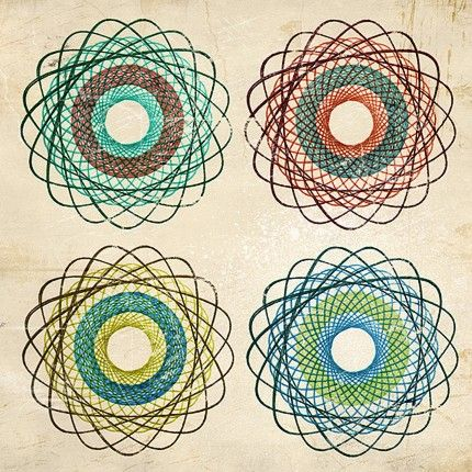 how to make a spirograph in photoshop