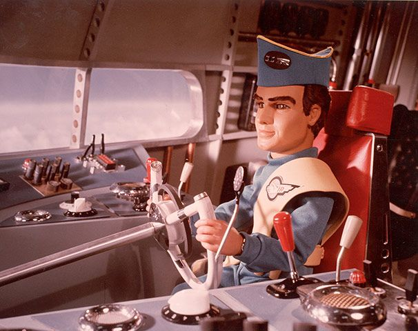 Virgil Tracy of the Thunderbirds The voice of David Holliday.
