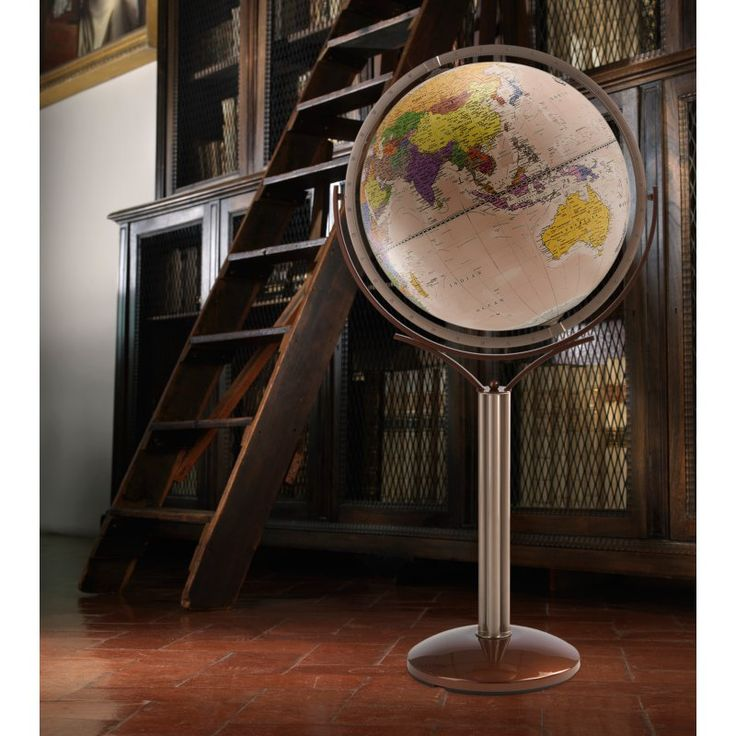 Zoffoli Magellano 20-in. Antique Ocean Floor Globe - ART902/50.02