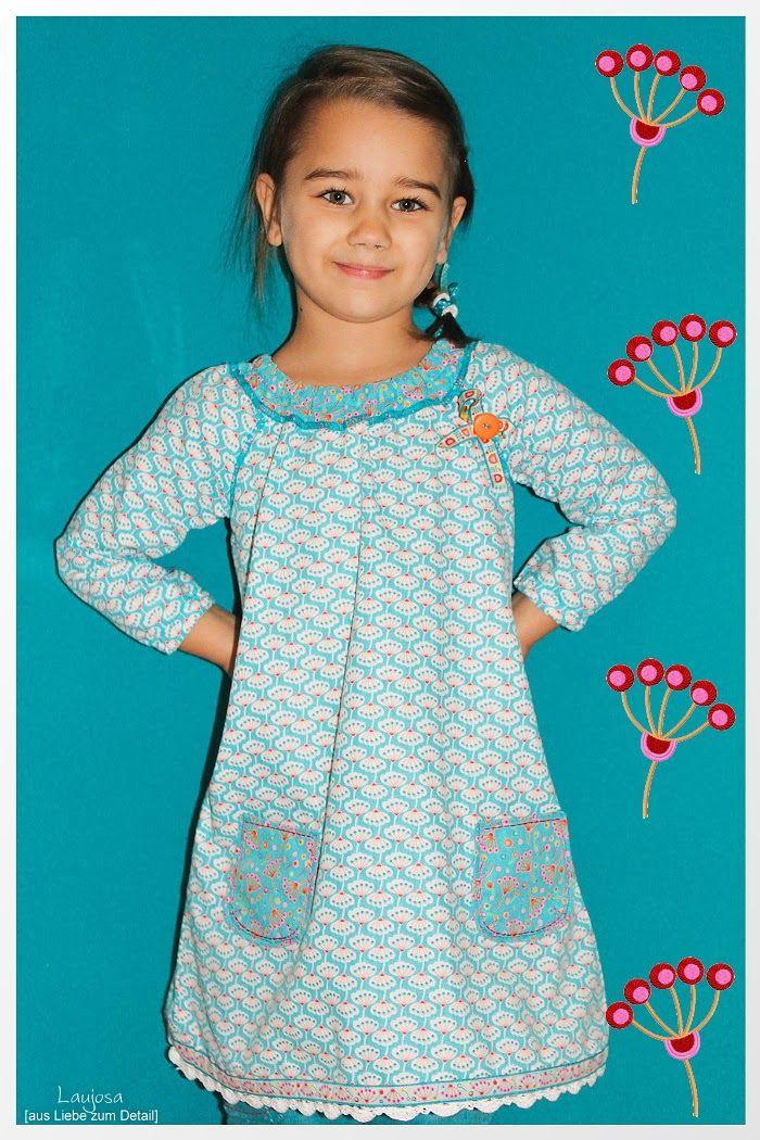 Schnittmuster: Kleid: Gitta von Farbenmix,   Stoff Jinnyjou