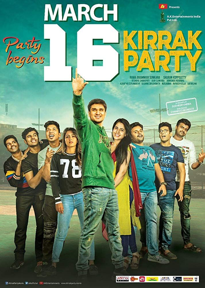 Kirrak Party 2018 Comedy Movie Movies Theater Movies Out Now