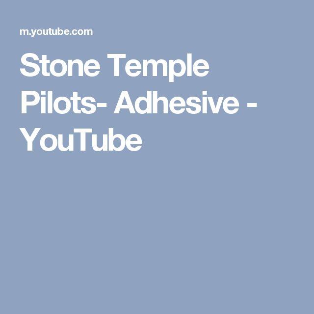 Stone Temple Pilots- Adhesive - YouTube