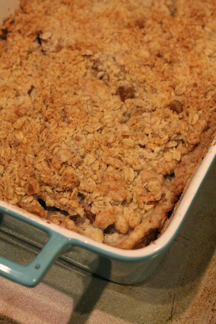Apple Pear Crisp | Carrot, Apple, Pear, Pumpkin, Strawberry, Rhubarb ...