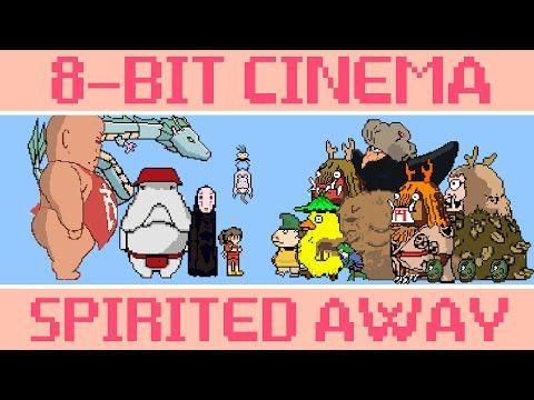 Hayao Miyazaki's 'Spirited Away' Brilliantly Recreated In 8-Bit Format - DesignTAXI.com