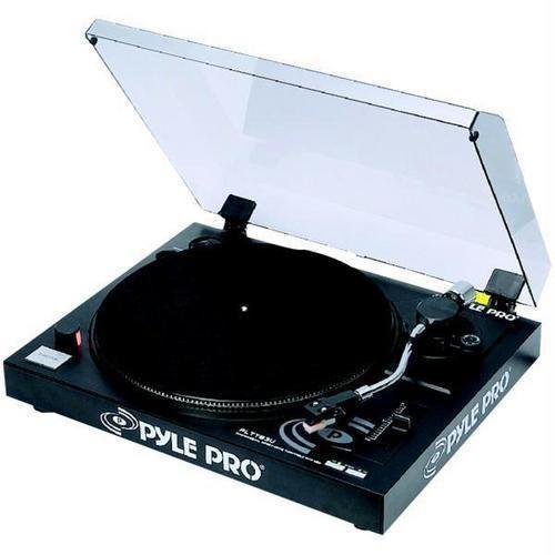 Pyle Pro(R) PLTTB3U Belt-Drive USB Turntable with Digital Recording Software R810-PYLTTB3U