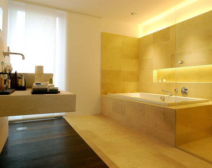 Superb Beleuchtung Bad Nische ber Badewanne