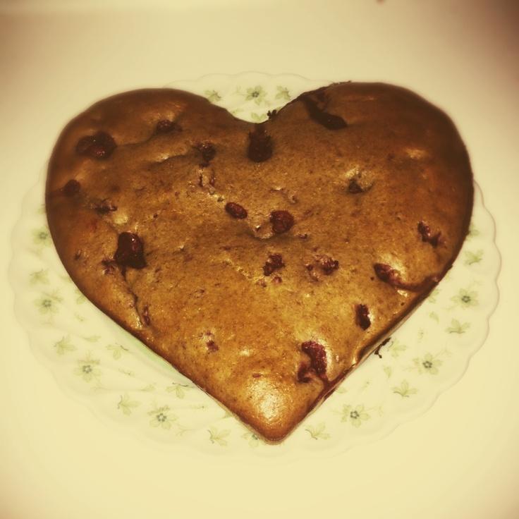 Raspberry heart!!!! Riquísimo y totalmente healthy