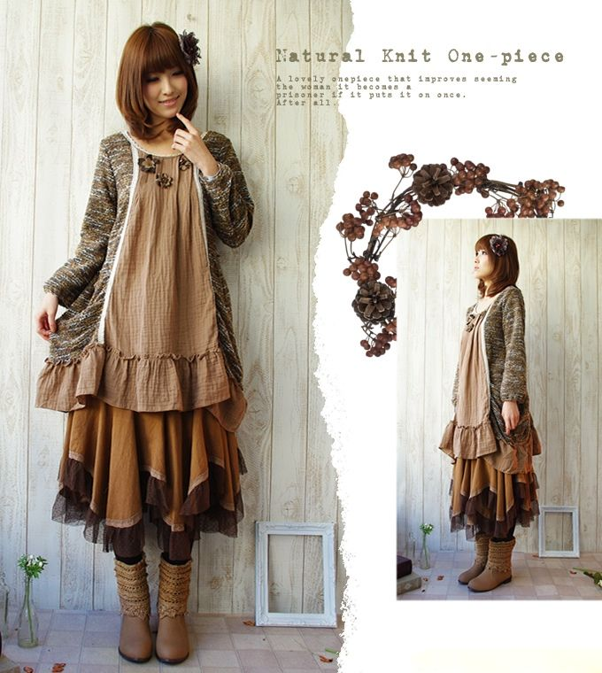 """The forest girl knit dress"""