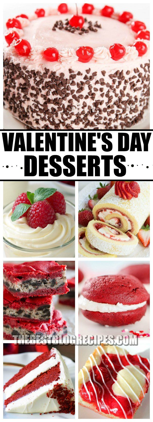 Valentine's Day is all about love, so we are sharing with you desserts that you will fall for this holiday! Between the adorable appearance and yummy sweetness of these desserts, we know these treats will become your new valentine favorites! via @bestblogrecipes