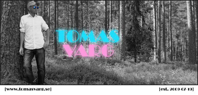 Tomas Varg: Banner i svartvitt