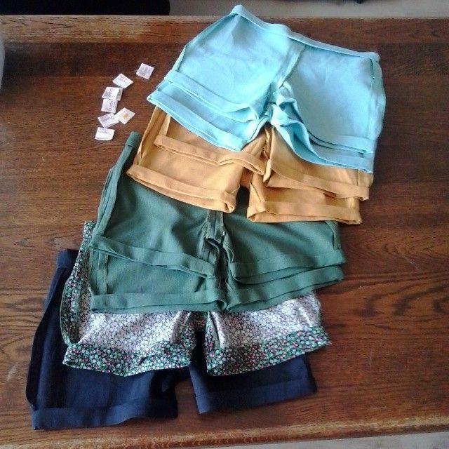 New pants!  #queenzoja #newcollection #ss2015 #shorts #spongebob 😋 #pants #topsyturvy #otherside #label #handmade #sew #spring #summer #linen #cotton #fashion #kidsfashion #fairtrade #slowfashion #slow #szyjemy #spodenki #kids #dziecko #ubranie #pumpy #110 #86