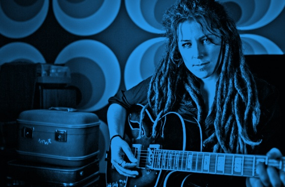 Vocalist and guitarist Faye Blais