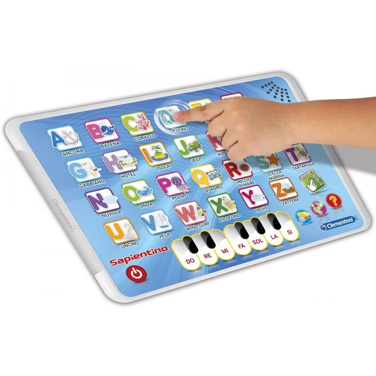 Apprendere l'alfabeto? E' semplice e divertente! Le lettere interattive con il nome e i suoni dei soggetti illustrati. Una simpatica tastiera per comporre tante melodie.3 modalità di gioco.Età: 3+