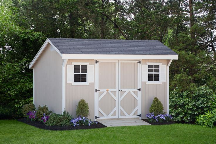 Wood Saltbox Storage Shed | Shed Kit | Tool Shed| Outdoor Storage