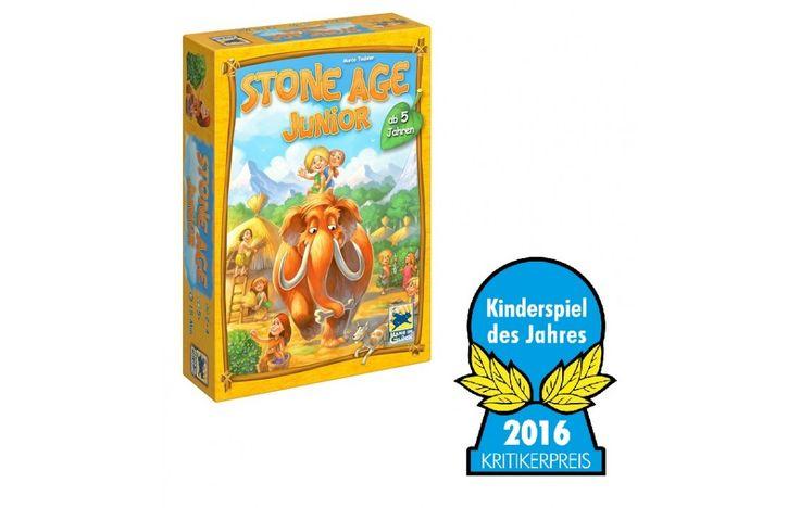 Stone Age Junior, kőkorszaki társasjáték 5 éves kortól - Hans im Glück
