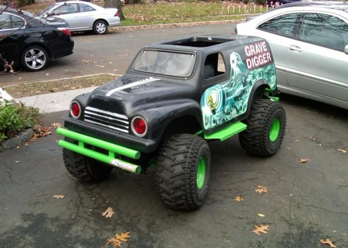 Mini Monster Cool Mini Cars Pinterest Monsters Pedal