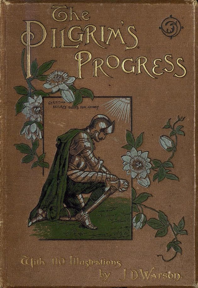 The Pilgrim's Progress, by John Bunyan. I have never read the book exactly, but ever since I was a child I have listened to a dramatized version of this on tape. As a child the bible was too deep for me to grasp very many concepts, but this, this I was able to understand and glean so much from. I think this book, helped me understand a great deal about redemption, the reason for pain, the list goes on. I will never stop loving this book, as well as the sequel.
