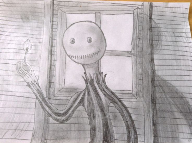 Creepy weird thing i drew