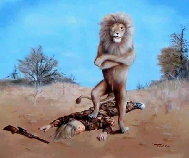 If animals hunt people.