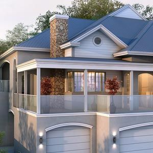 Contemporary Two Story House Designs - Best two story house design