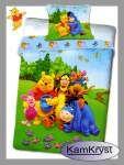 Bedding Winnie the Pooh in the meadow 160x200 | Pościel Kubuś Puchatek na łące 160x200