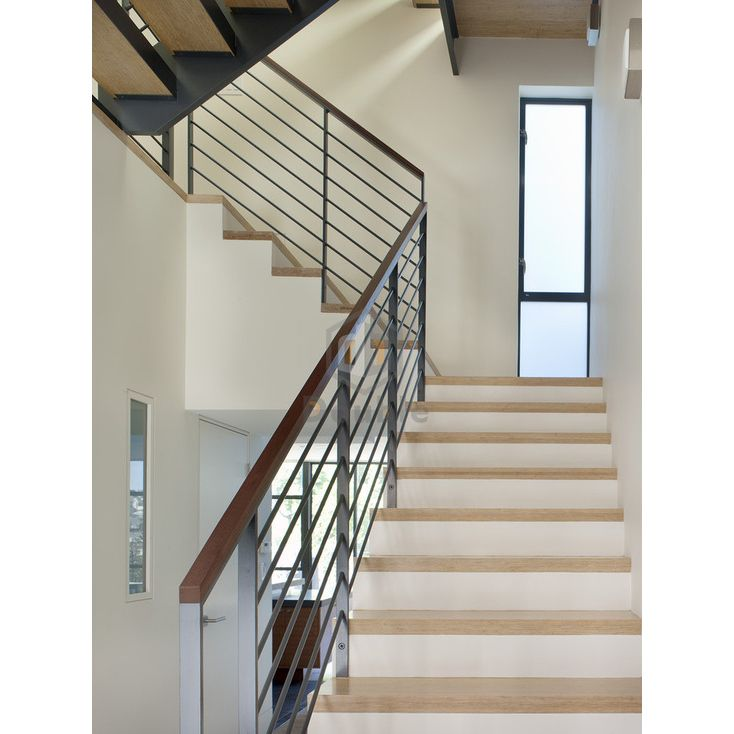 Hot Item Villa House Staircase Railing Carbon Steel Powder Coated