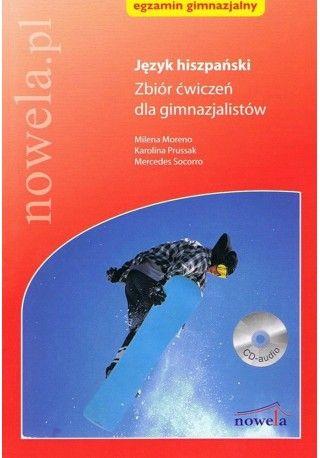 Język hiszpański Zbiór ćwiczeń dla gimnazjalistów + CD audio