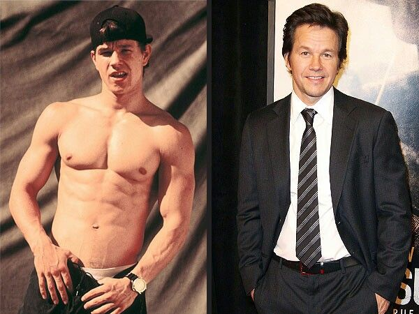 Mark Wahlberg then&now