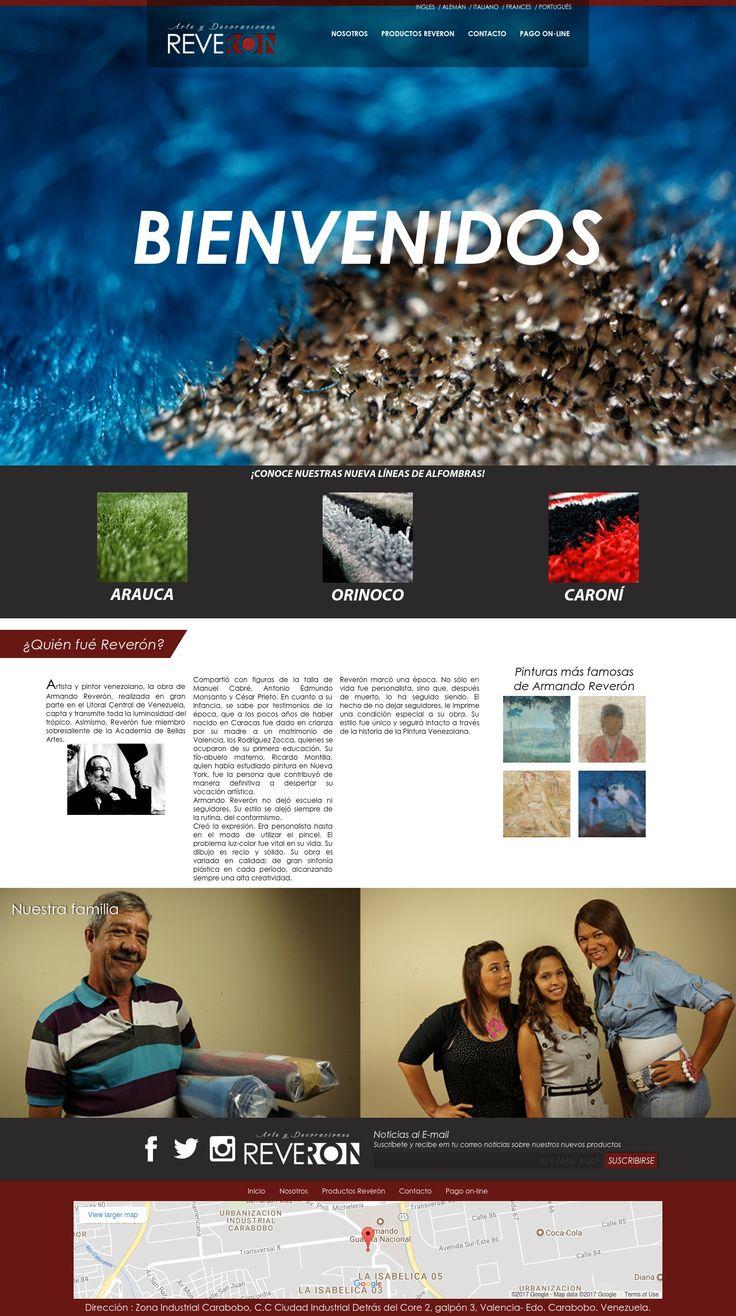 Diseño Web de Arte Reveron para Producemeesto