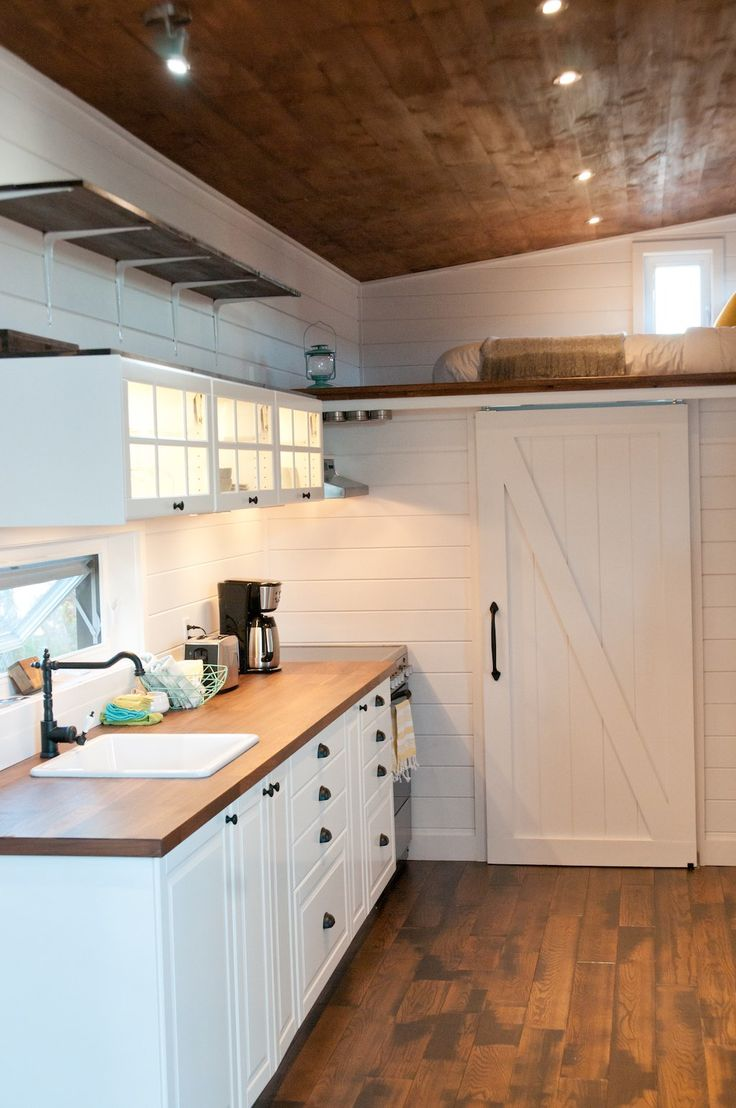 Modern tiny home boasts a big kitchen for foodies treehugger - Le Ch Ne Tiny House Swoon Tiny Houses Pinterest Tiny House Swoon Tiny Houses And House