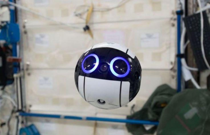 Int-Ball : le nouveau robot de la Station Spatiale Internationale va vous faire craquer