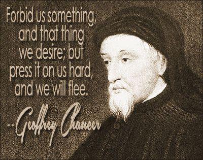 Geoffrey Chaucer quote #desirequotes