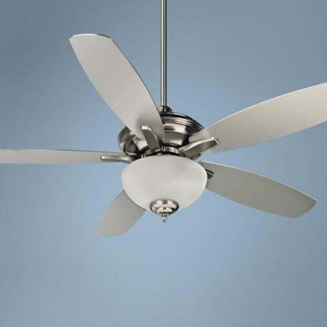 """52"""" Craftmade Copeland Stainless Steel Ceiling Fan"""