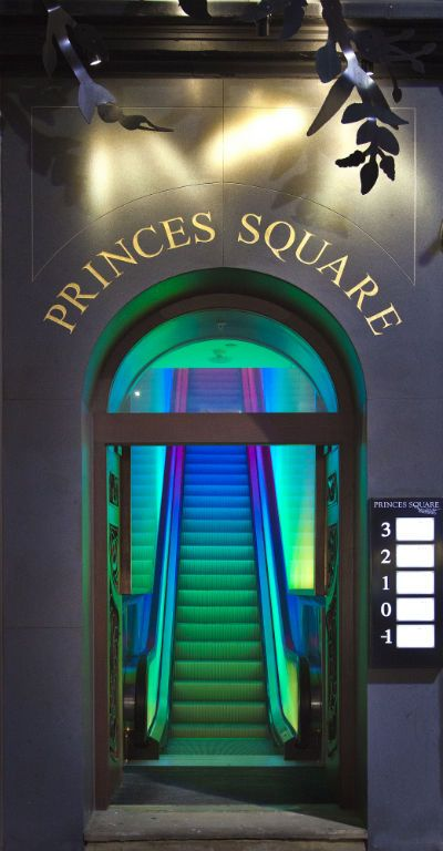 Entrance to Prince's Square, Glasgow #GrouponGuide #Glasgow