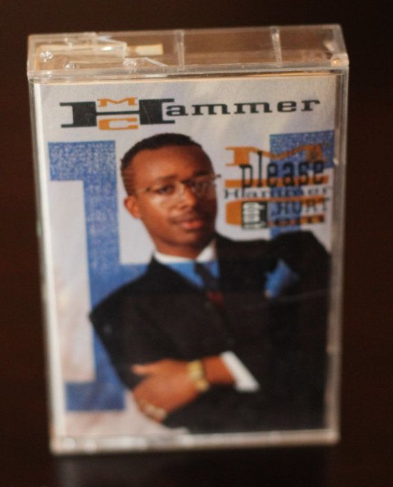 MC Hammer!   Looking at this in the cassette reminds me of dancing in Z. Cavariccis.