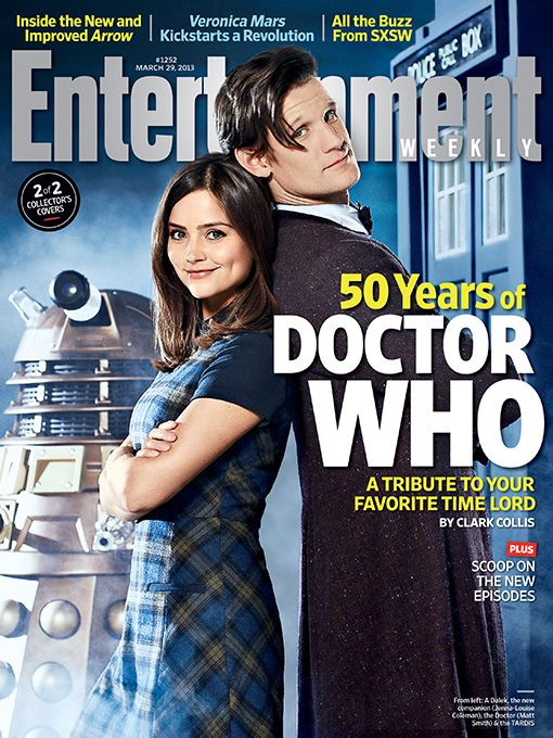 This Week's Cover: Celebrating 50 years of 'Doctor Who'