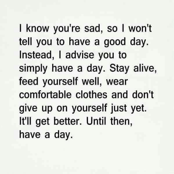 It'll get better.