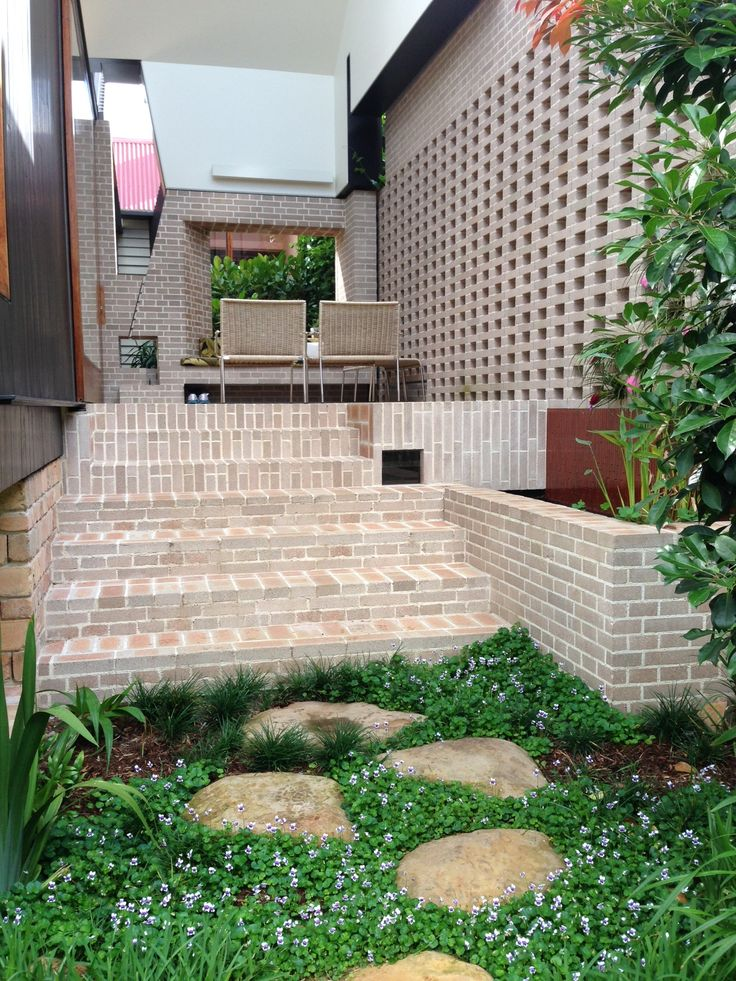 574 best images about dream house exteriors on pinterest for Courtyard landscaping brisbane