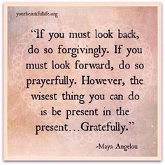 Be in the present, gratefully. Quotes, Inspirational Quotes, Habits, Mindfulness, Anxiety, Depression