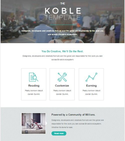 Koble Business Email Theme