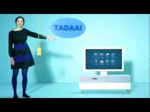 App geht's mit IKEA UPPLEVA: Das neue Hybrid-Kunststück aus Flat-TV von TCL und Möbelstück mit integriertem Blu-Ray-Player, Surround Sound, Radio und Internet kann auch Apps: YouTube, Vimeo und der norwegische Browser Opera machen den Anfang.