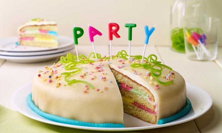 Vanilla-Party-Torte Rezept | Dr. Oetker