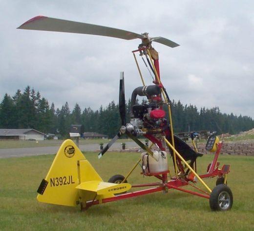 FAR 103 legal ultralight gyrocopter.