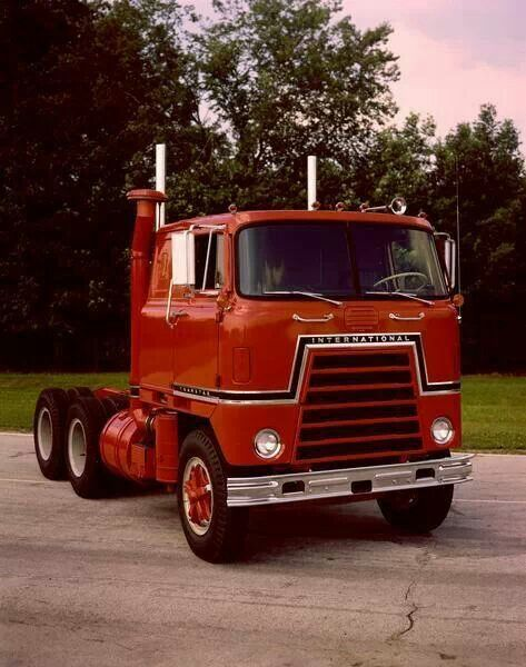 Antique International Harvester Semi Tractor : Best images about semi trucks ect love affair on