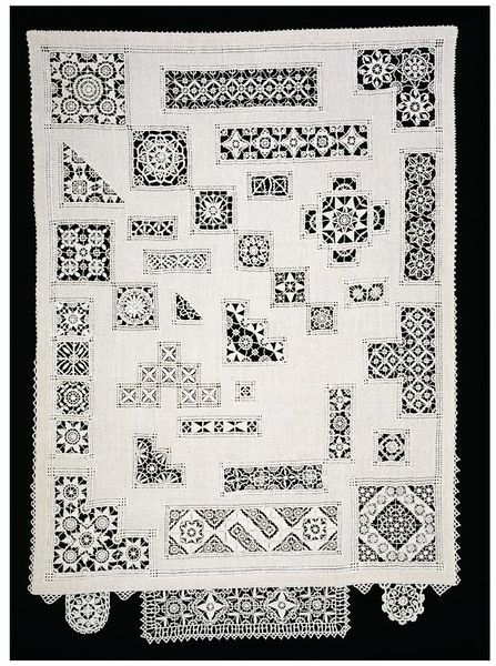 Sampler embroidered by Elizabeth Prickett 1972-1977