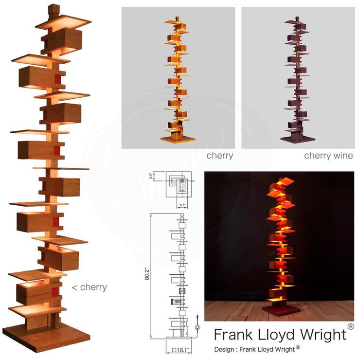 Frank Lloyd Wright Floor Lamp Plans Woodworking Projects