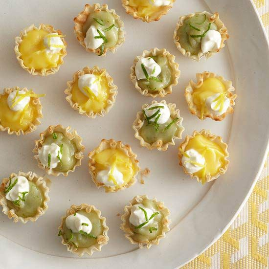 Good things do come in small packages, like our Itty-Bitty Lemon or Lime Pies!